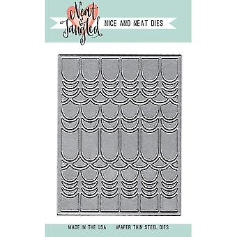 Neat & Tangled Die-Scalloped Cover Plate