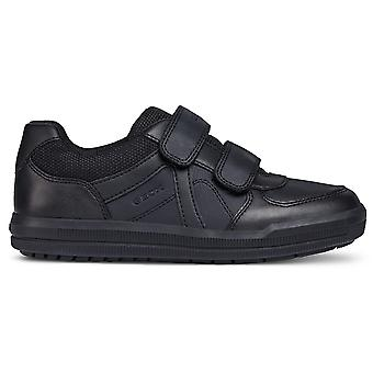 Geox Boys Arzach J844AE School Shoes Black