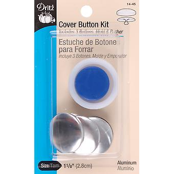 Cover Button Kits-Size 45 1-1/8