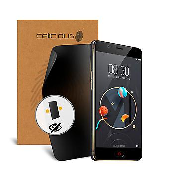Celicious Privacy 2-Way Visual Black Out Screen Protector for nubia N2
