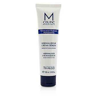 Thalgo MCEUTIC Normalizer Cream-Serum - Salon grootte - 100ml / 3,38 oz