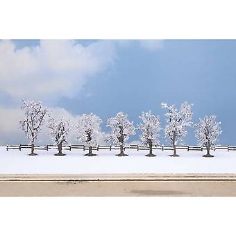 Tree set Winter trees 80 up to 100 mm NOCH 25075 Pure white 7 pc(s)