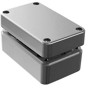 Deltron Enclosures 487-130806A-68 Universal enclosure 130 x 80 x 60 Aluminium Grey 1 pc(s)