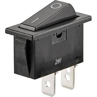 SCI Toggle switch R13-70A-01 24 Vdc 10 A 1 x Off/On latch 1 pc(s)