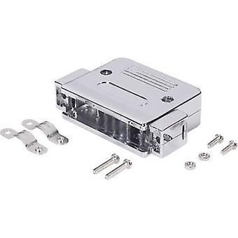 D-SUB abritant nombre de broches: 9 en plastique, métallisées 180 ° argent électronique BKL 10120076 1 PC (s)