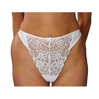 Silhouette Lingerie 'Paysanne' Everyday Thong Briefs in Floral Lace (4050) [UK]
