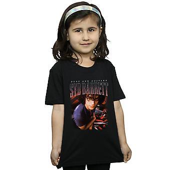 Syd Barrett Girls Dust And Guitars Homage T-Shirt