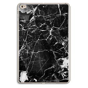 iPad Mini 4 Transparent Case (Soft) - Black Marble 2