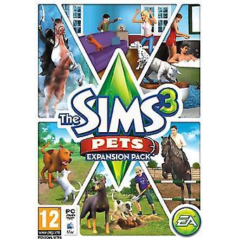 Sims 3 kæledyr Expansion Pack (PCMac DVD)