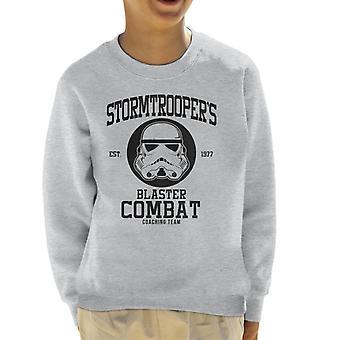 Original Stormtrooper Blaster combater de moletom treinador equipe infantil