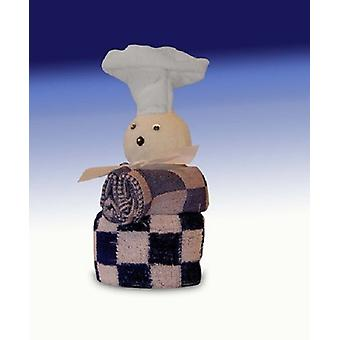 Kadoset kd/td 2wh chef blue/red/black