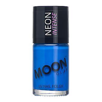 Moon Glow - 14ml Neon UV Nail Varnish - Intense Blue