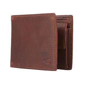 Camel active mens portafoglio portafoglio portamonete marrone/brandy 1720