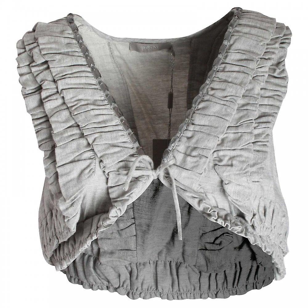 Gustav All Over Ruffle Detail Waist Coat
