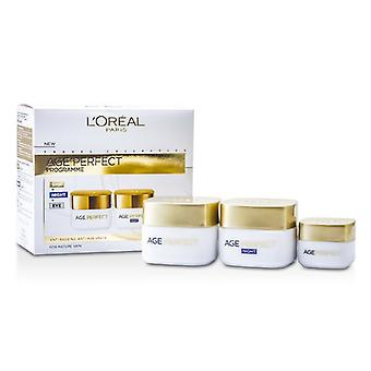 L'Oreal Age Perfect program: Dag creme + Eye Cream + natcreme - 3stk