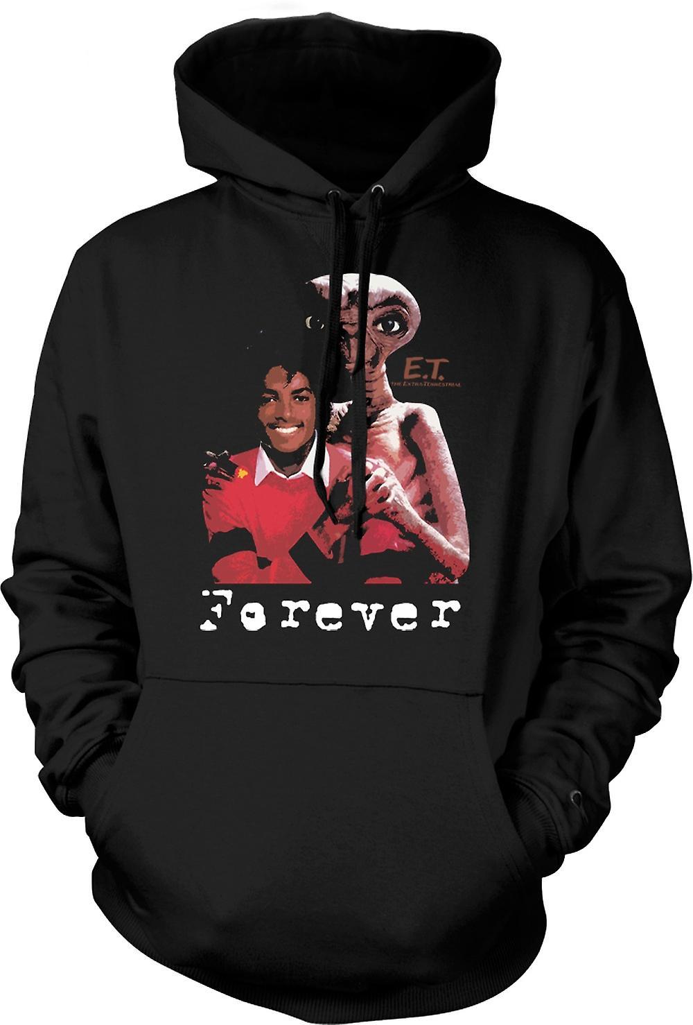 Kids Hoodie - Et Michael Jackson - Forever Alien