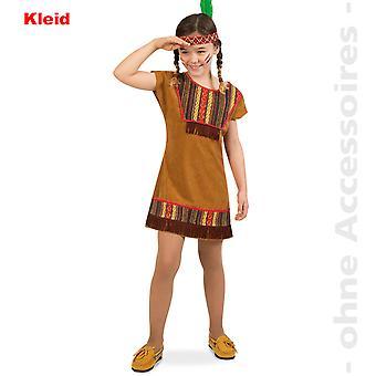 Native American costume child Squaw Indian girl child costume