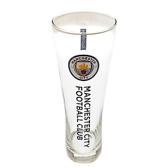Manchester City FC Official Tall Beer Glass