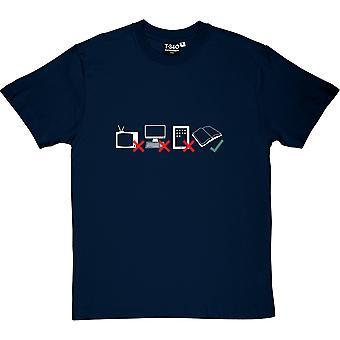 Wählen Sie Bücher Herren T-Shirt