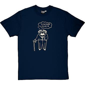 Na minha cabeça, eu ainda sou t-shirt do dezoito homens