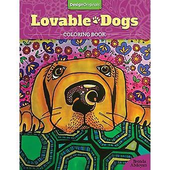 Lovable Dogs Coloring Book by Brenda Abdoyan - 9781497201675 Book