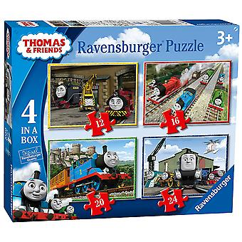 Ravensburger Thomas & Friends 4 in a Box (12, 16, 20, 24) Jigsaw