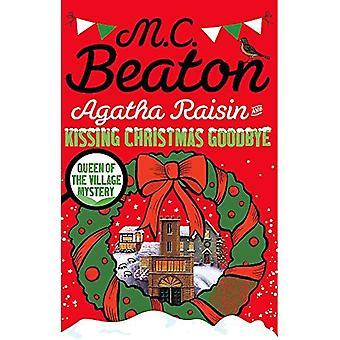 Agatha Raisin en zoenen afscheid van Kerstmis