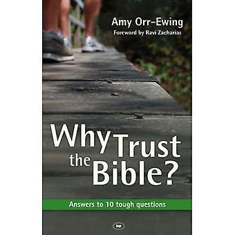 Porque confiar em Bíblia?: respostas às 10 perguntas difíceis