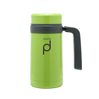 Green Pioneer Vacuum Capsule 0.45ml Mug Flask with Handle