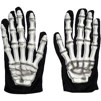 Handschoenen kind skelet