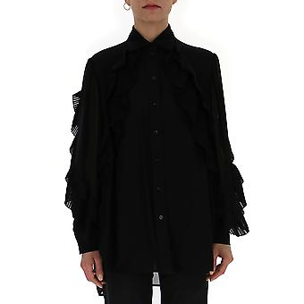 Givenchy Black Cotton Shirt