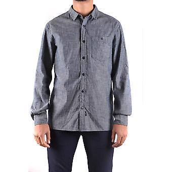 Stone Island Grey Cotton Shirt