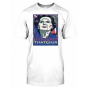 Margaret Thatcher-vägen till makten herr T shirt