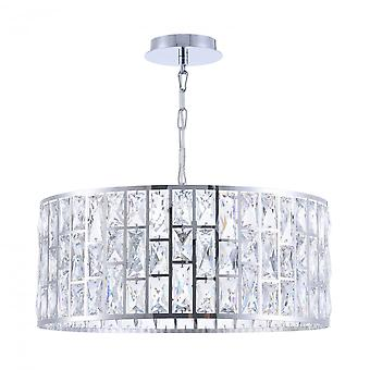 Maytoni Lighting Gelid Modern Pendant, Chrome