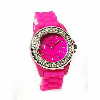 Henley Glamour Bling Magenta Ladies Sports Watch H0826.5