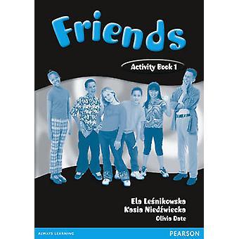Friends 1 - (Global) Activity Book by Liz Kilbey - Carol Skinner - 978