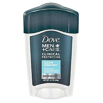 Dove men+care clinical protection deodorant, clean comfort, 1.7 oz