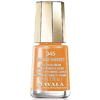 Mavala Bubble Gum 2018 Nail Polish Collection - Orange Sherbet (345) 5ml