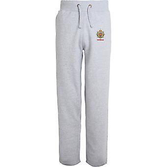 Royal Army Service Corps Veteran - Licensed British Army Embroidered Open Hem Sweatpants / Jogging Bottoms