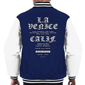 London Banter LA Venice California Men's Varsity Jacket