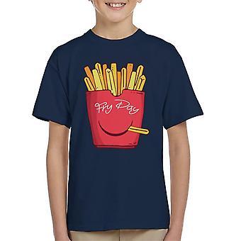 Fry dag Fries Kid ' s T-skjorte