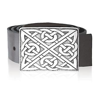 Rectangular Celtic Knot Belt Buckle (BB004)