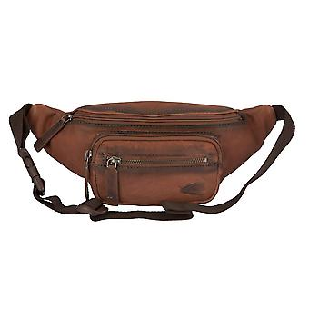 Camel active man's Pocket belt bag Fanny Pack leather case Brown 2453