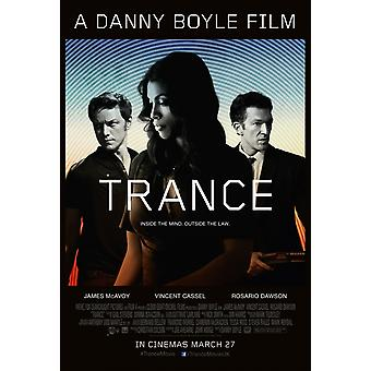Trance Poster Double Sided  (2013) Original Cinema Poster