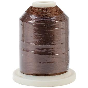 Cotton 3 Ply 1100 Yard Mini King Spool Chestnut 60 Sn216
