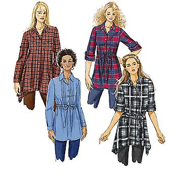 Misses' Tunics And Sash  A5 4  6  8  10  12 Pattern M6167  A50