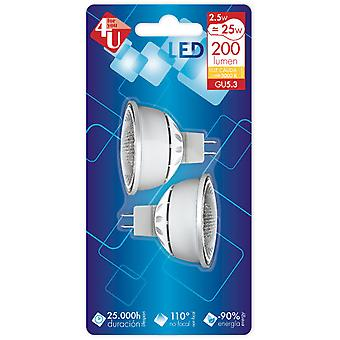 Garza 4U Bipack G5.3 Led SMD 2.5W 200Lm 120th (Home , Lighting , Light bulbs and pipes)