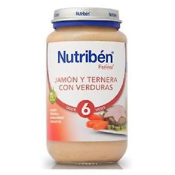 Nutribén Jamon Veal Vegetables (Childhood , Healthy diet , Pots)