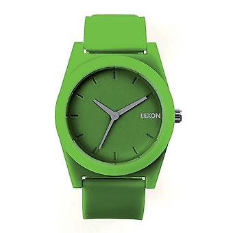 Dark Green Lexon Spring Rubber Watch Small