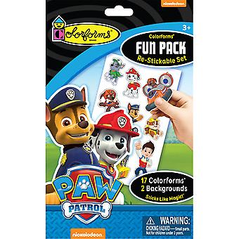 Colorforms(R) Fun Pack Re-Stickable Sticker Set-Paw Patrol COLORFP-972
